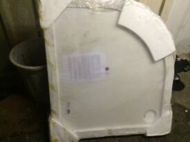 Curved Shower base brand new