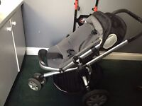 Quinny buzz black pushchair/ buggy