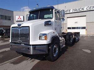 2017 Western Star 4700SB New Western Star 4700SB Triaxle cab and