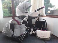 Travel system pram/buggy.Colleto