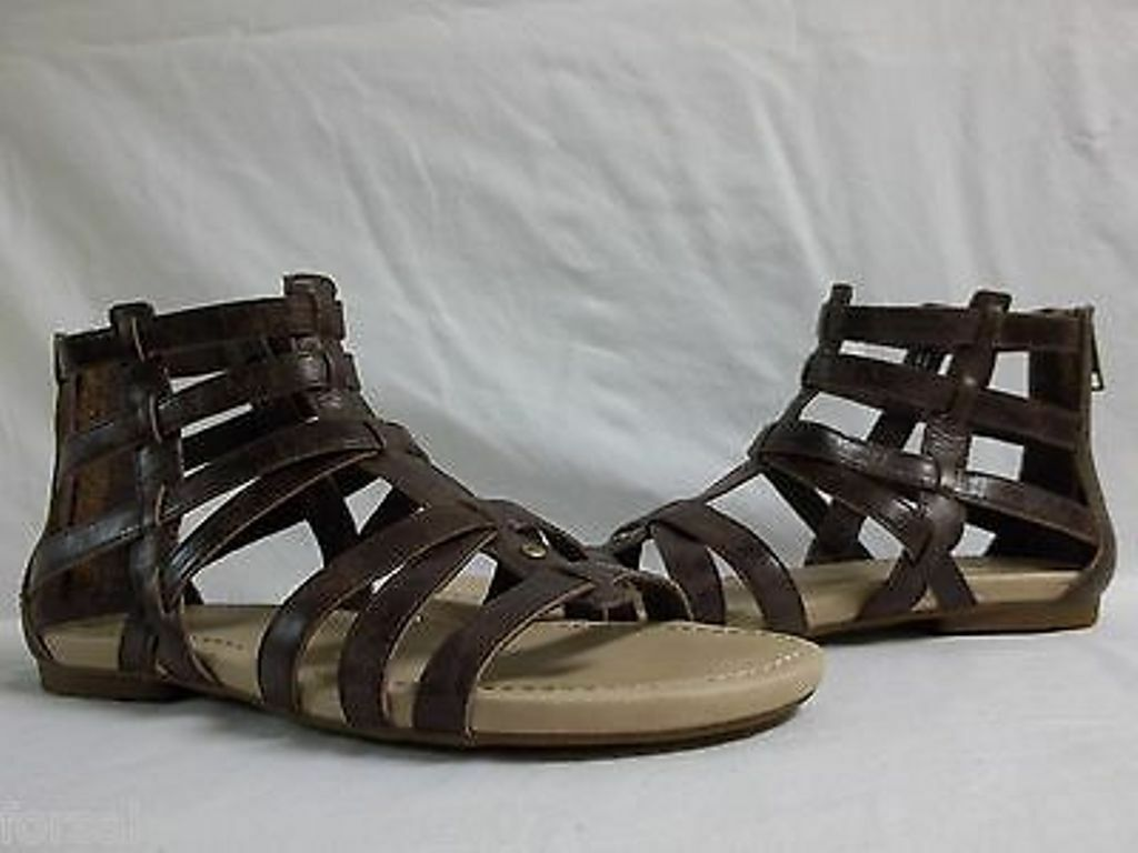 7947b882d66 WOMENS UGG GLADIATOR SANDALS - SIZE UK 6 - INSIDE SHOE ...