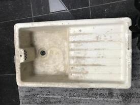 Antique sink.