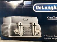 DeLonghi Scultura Toaster - New In Box