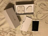 iPhone 6 16gb in gold with box head phones plug and charging lead