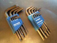 gedore allen and torx key set ,german high quality