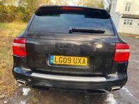 2009 Porsche Cayenne 3.0 Tdi Diesel Auto Black spares or repairs non runner export