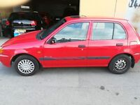 Toyota starlet, 12 months mot, good running honest car with 2 owners