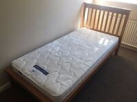 NEW single bed with mattress - GREAT price!