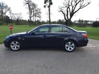 2006 BMW 525I SE AUTO FULL CREAM LEATHER BLINDS FULL BMW SERVICE HISTORY 2 KEYS 1 OWNER FROM NEW