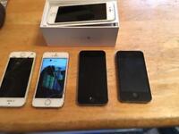 Job lot of I phones