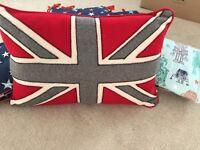 Ben Di Lisi Union Jack cushions