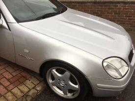 SLK Mercedes Hardtop convertible