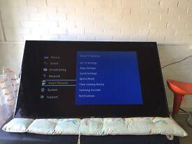 "75"" Samsung smart television"