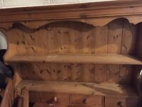 hand made pine dresser unit