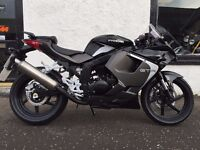 Hyosung GT125R 125cc Super Sport Motorcycle available on Flexible Payment Terms Nationwide Delivery