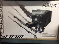 """Mutant engage 500W 12"""" car subwoofer and amplifier"""