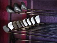 13 Golf clubs set of King cobra tour, 3,4,5,6,7,8,9, 3,5, driver ,sw PW and a tap in putter