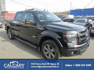 2014 Ford F-150 FX4 / LEATHER/ NAVI/ ECOBOOST