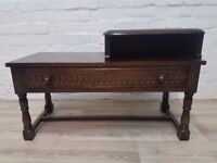 Priory Corner Telephone Table DELIVERY AVAILABLE FOR THIS ITEM OF FURNITURE
