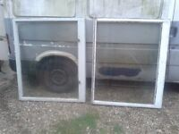 FREE!!! 2 X windows wooden for shed garage project. 3x 4ft approx, delivery to norwich is possible
