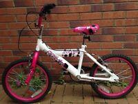 Girls 14inch bike