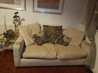Two large seats sofa bed