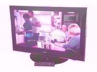 "LG 37"" LCD TV 1080P FULL HD USB,"