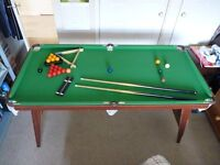 Kids Snooker/Pool Table for sale