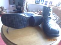Classic 90s Ben Sherman Mens Black Boots, Size 9