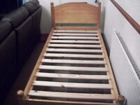 for sale pine single bed