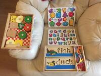 Melissa & Doug Wooden Toys
