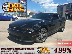 2013 Ford Mustang V6 PERFORMANCE PAC 19INCH MAGS STICK
