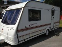 COACHMAN V I P 460/2 BERTH. MOTOR MOVER END BATHROOM WITH SEPERATE SHOWER