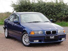 BMW E36 318is M Sport, Saloon, 1998, Only 40k Miles, MOT: 1 Year, 2 Owners, Avus Blue