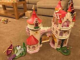 Playmobil princess fantasy castle plus extension