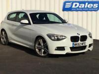 BMW 1 Series 118d M Sport 3dr Step Auto (white) 2012