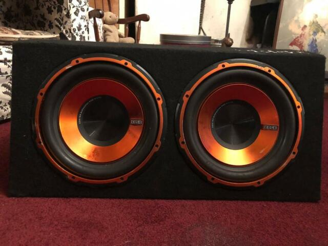"Edge Audio EDB12TA 12/"" 1800W Twin Active Car Bass Box Sub Subwoofer Enclosure"