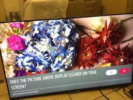 """LG 49"""" smart 4k ultraHD Apps Freesat Warranty Free Delivery"""