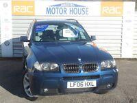 BMW X3 D M SPORT FREE MOT'S AS LONG AS YOU OWN THE CAR!!!! (blue) 2006