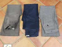 KEW TROUSERS SIZE 8 (3 pairs)