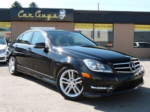 2014 Mercedes-Benz C-Class C300 4MATIC - Pano-roof,  Heated Leat