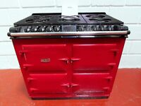 AGA RAYBURN SIX-FOUR DC6 TRADITIONAL COOKER DUAL FUEL MINT CONDITION
