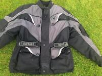 Motorbike jacket- Buffalo medium mens