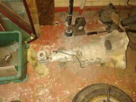 Midget 1275 ribbed gearbox