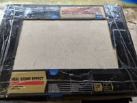 7.5 packs of Crema Marfil tiles from Wickes