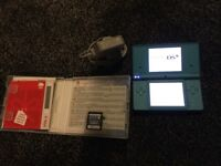 Very good condition blue DSi complete with professor Layton spectre calls