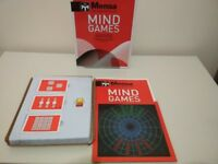 Mind Games for MENSA IQ Test Preparation + Learning Activity