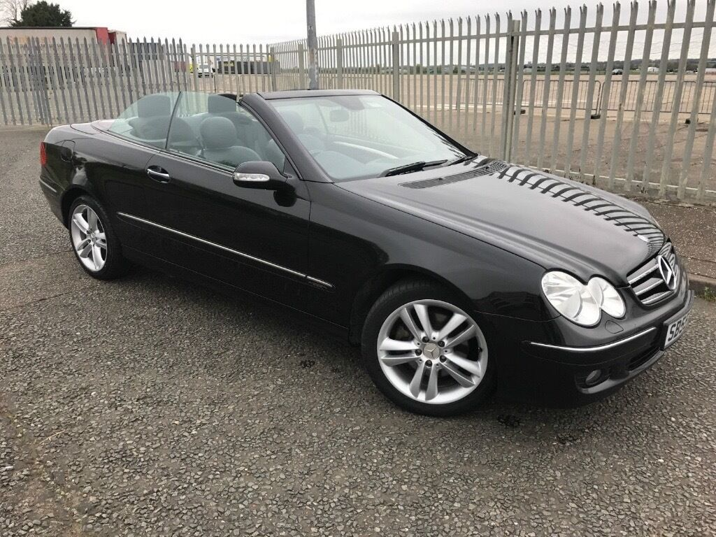 Mercedes CLK 200 Kompressor, Black, Black, Black 6 Speed Manual