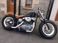 Harley Davidson 1200 Custom Hardtail Bobber