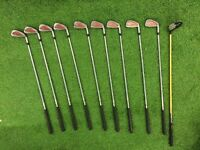 Nickent BB Plus 3wood + set of 9 tour model irons